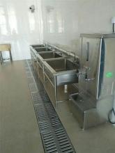 广西饭堂不锈钢洗菜(流碗)池