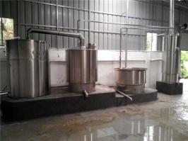 不锈钢万博manbext体育官网蒸酒设备(500斤米)