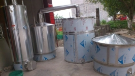 不锈钢万博manbext体育官网蒸酒设备(600斤米)