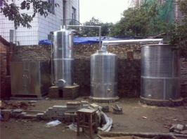 铝合金万博manbext体育官网蒸酒设备(600斤米)