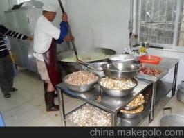 厨房设备(蒸汽煮菜现场)